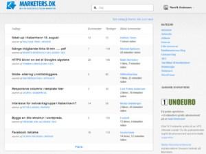 marketers.dk - det bedste online marketing forum der findes