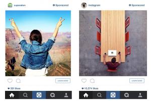 Eksempler på Instagram Ads