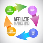 Affiliate Marketing illustration