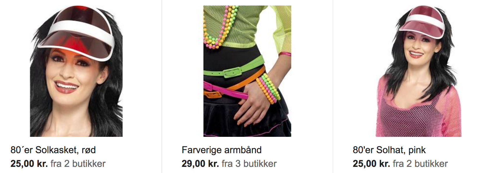 Google Shopping eksempel 1