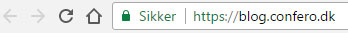 https adresselinje i Google Chrome