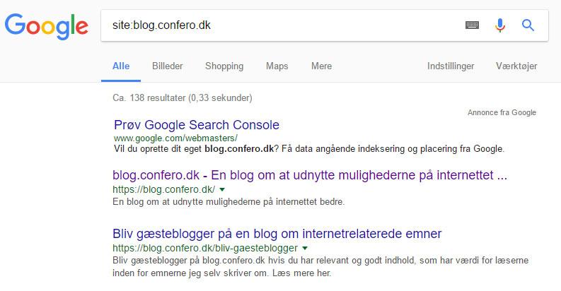 Site-søgning
