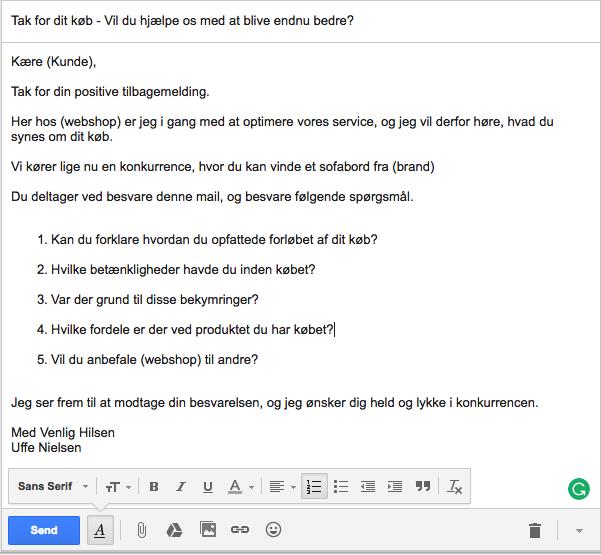 Positiv e-mail