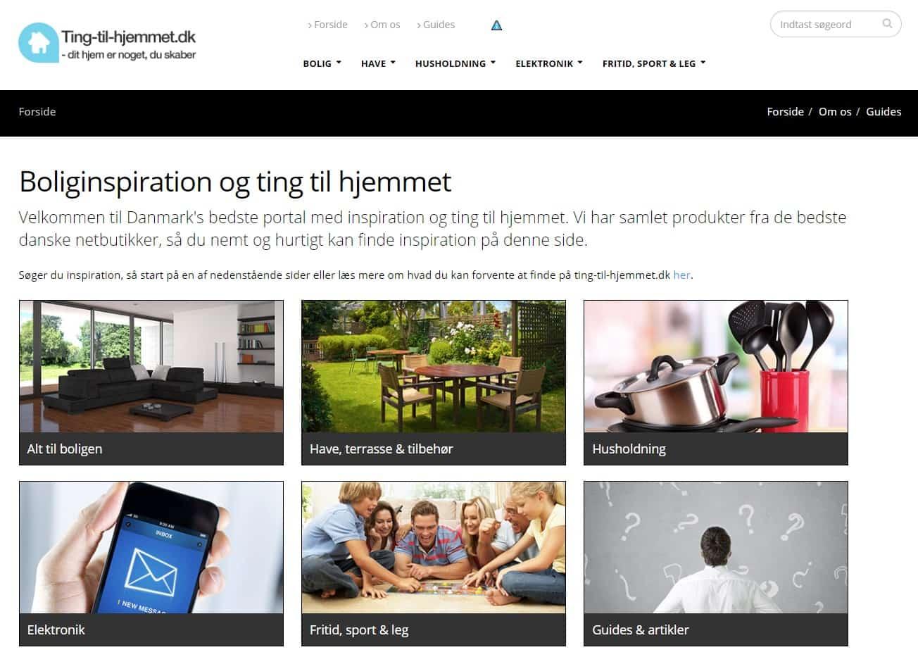 Ting-til-hjemmet.dk